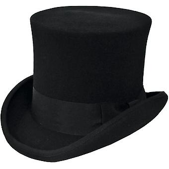 Tall Hat Black Large For Men