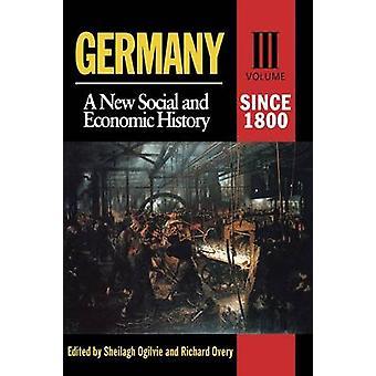 1800 年以来ドイツ オギルビー ・ Sheilagh によって新しい社会経済史