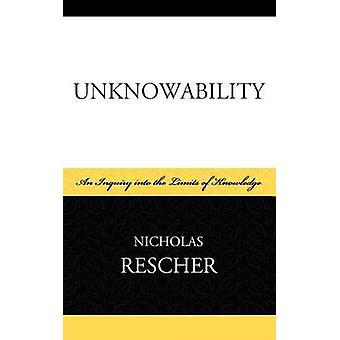 Unknowability by Rescher & Nicholas