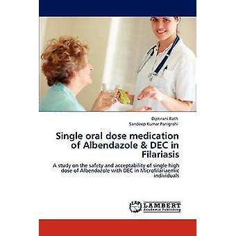 Single Oral Dose Medication of Albendazole  Dec in Filariasis by Rath & Diptirani