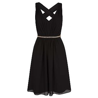 Yumi Womens/Ladies Midi Diamante Dress
