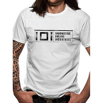 Men's Ready Player One 101 Industries Logo White T-Shirt