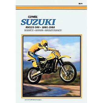 Suzuki RM125-500 Single Shock 1981-1988 - Clymer Workshop Manual (2nd)