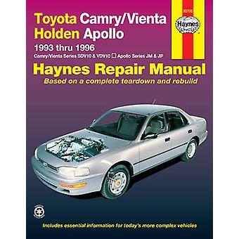 Toyota Camry/Vienta and Holden Apollo Australian Automotive Repair Ma