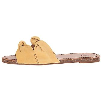 ED by Ellen Womens Shiri Leather Open Toe Casual Slide Sandals