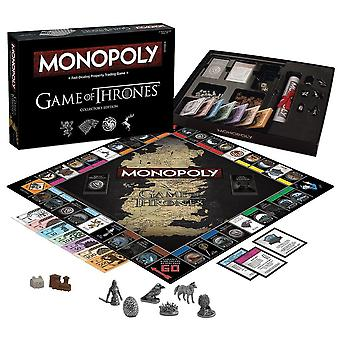 Monopoly Game Of Thrones Collectors Edition, Édition Deluxe