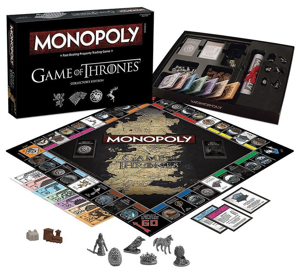 Monopoly Game Of Thrones Collectors Edition, Deluxe Edition