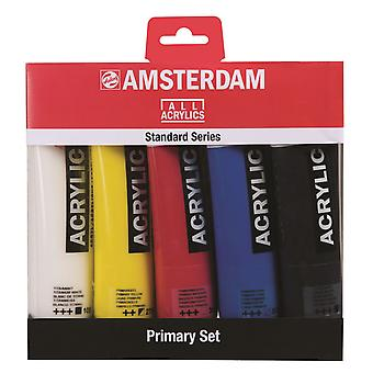 Amsterdam Standard Series Acrylic Primary Set 5 x 120ml