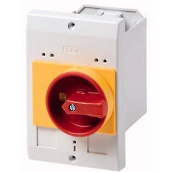 Eaton E-PKZ0-GR Enclosure Recess mount, + kill switch (L x W x H) 80 x 85 x 129 mm Rood, Geel, Grijs 1 pc(s)