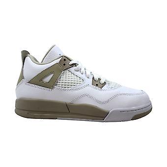 Nike Air Jordan IV 4 Retro GP biały/Boarder Blue-Light Sand 487725-118 pre-Szkoła