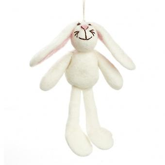 Felt So Good Hanging Bunny Decoration | Gifts From Handpicked