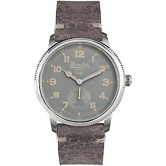 Mondia italy 1946 small second watch for Japanese Quartz Analog Man with Cowskin Bracelet MI755-1CP