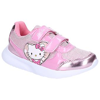Leomil Kids Hello Kitty Touch Fastening Trainer Fushia