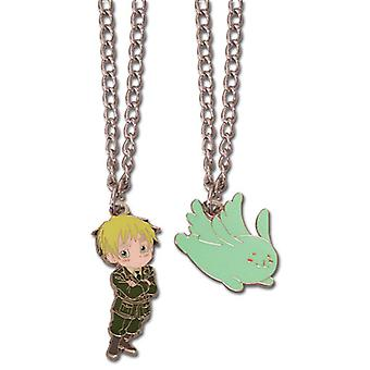 Necklace - Hetalia - Axis Powers - England & Youseisan New Anime ge35566