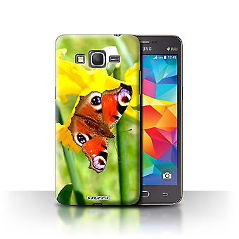 STUFF4 Tilfelle/Cover for Samsung Galaxy Grand Prime/Butterfly/blomsterhage blomster