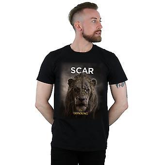 Disney-Men ' s az Oroszlánkirály film SCAR poszter T-shirt
