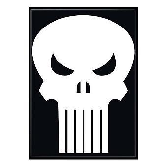 Punisher Skull Logo aimant