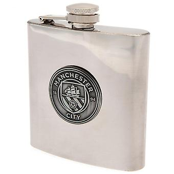 Manchester City FC Hip Flask