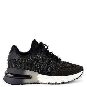 Ash Footwear Krush Bis Black Knit Trainer