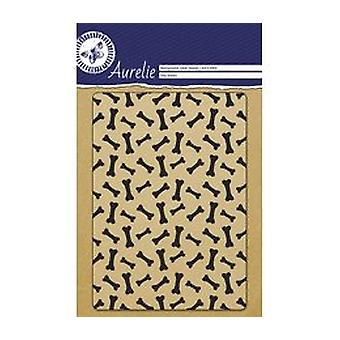 Aurelie Dog Bones Background Clear Stamp