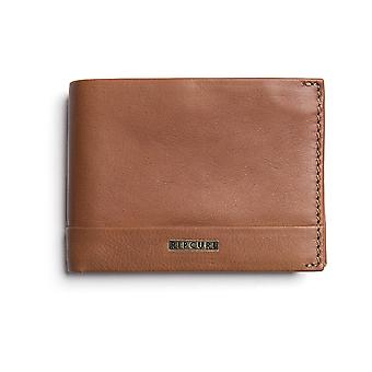 Rip Curl Horizons RFID All Day Leather Wallet in Cognac