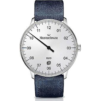MeisterSinger Men's Watch Neo Plus Single-Hand Watch Automatic NE401_SV04