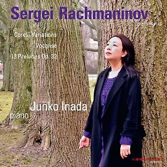 R. Rachmaninov-Rachmaninov: variaatiot Corellin teemassa; Laulaen; 13 Preludes [CD] USA Import