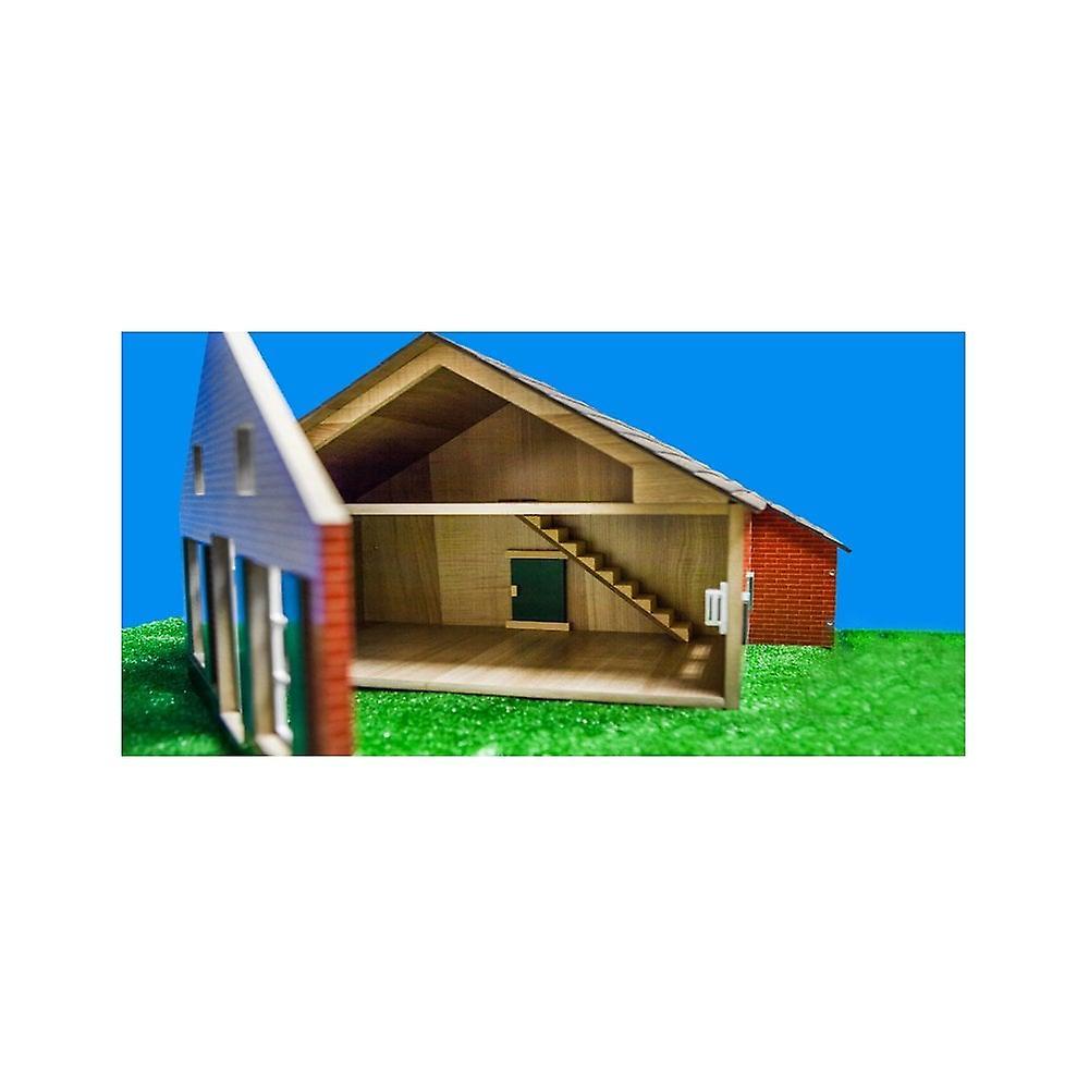 KidsGlobe  (Kids Globe) Kids Globe Farm House & Farm Buildings 1:32  0111