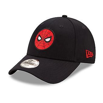 New Era 9Forty Kinder Baby Cap - SPIDERMAN schwarz