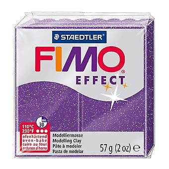Fimo Effect Modelling Clay, Lilac Glimmer, 57 g