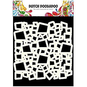 دوبادو الهولندية قناع فن الاستنسل-6 × 6 مربعات #715503
