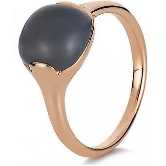 Gemstone Ring Moonstone 2.63 ct. Size 54