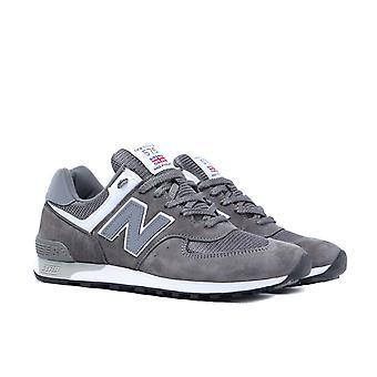 New Balance Made In England M576 Gunmetal Grey Suede Trainers