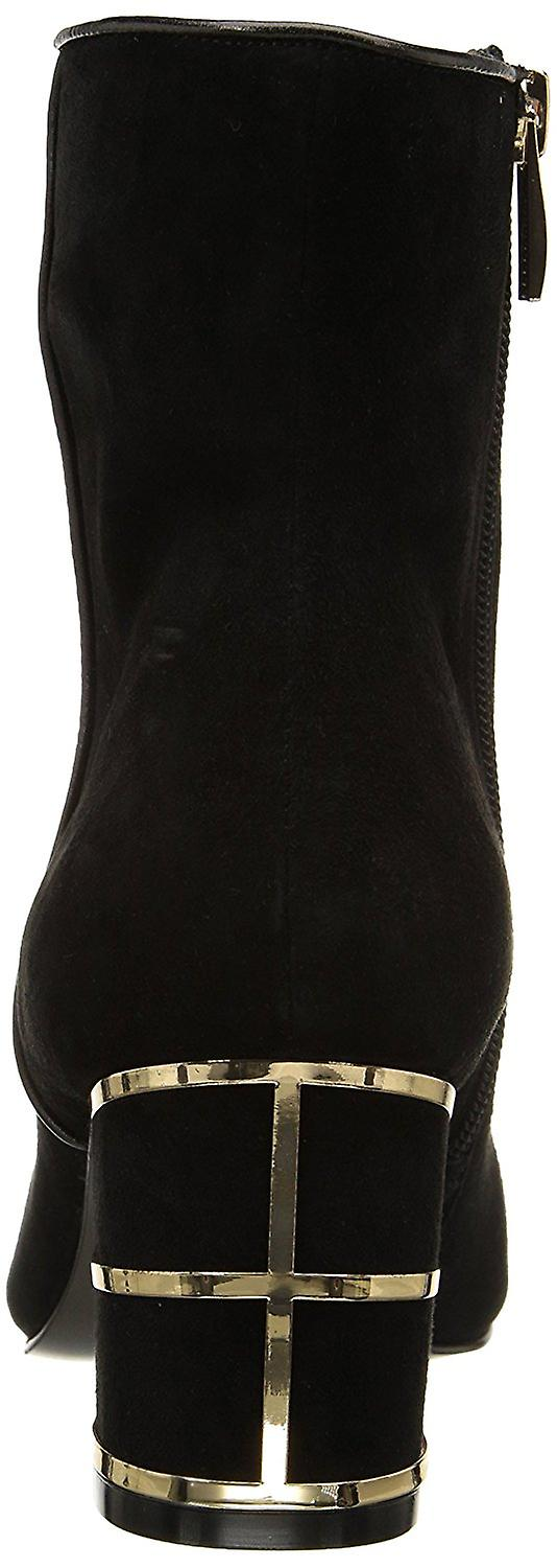 STEVEN by Steve Madden Womens Bailei Suede Pointed Toe Ankle Fashion Boots