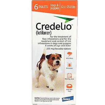 Credelio Orange Medium Dogs 12.1-25 lbs (5.5-11 kg) 6 Pack