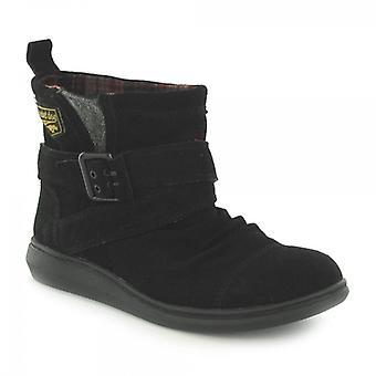 Rocket Dog Mint Ladies Suede Boots Black