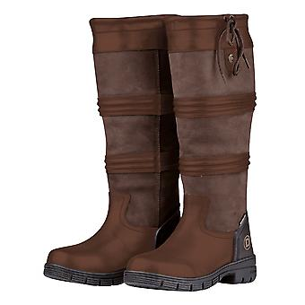 Dublin Husk Ii Womens Tall Leather Country Boot - Brown