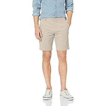 DOCKERS Men's Straight Fit Original Khaki Short, Sahara, Sahara Khaki, Size 24