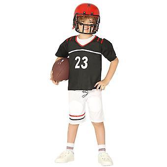 Boys Quarterback American Football Fancy Dress Costume