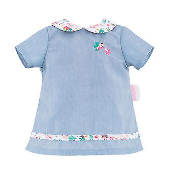 Corolle Mon Grand Poupon-Puppen Kleid blau