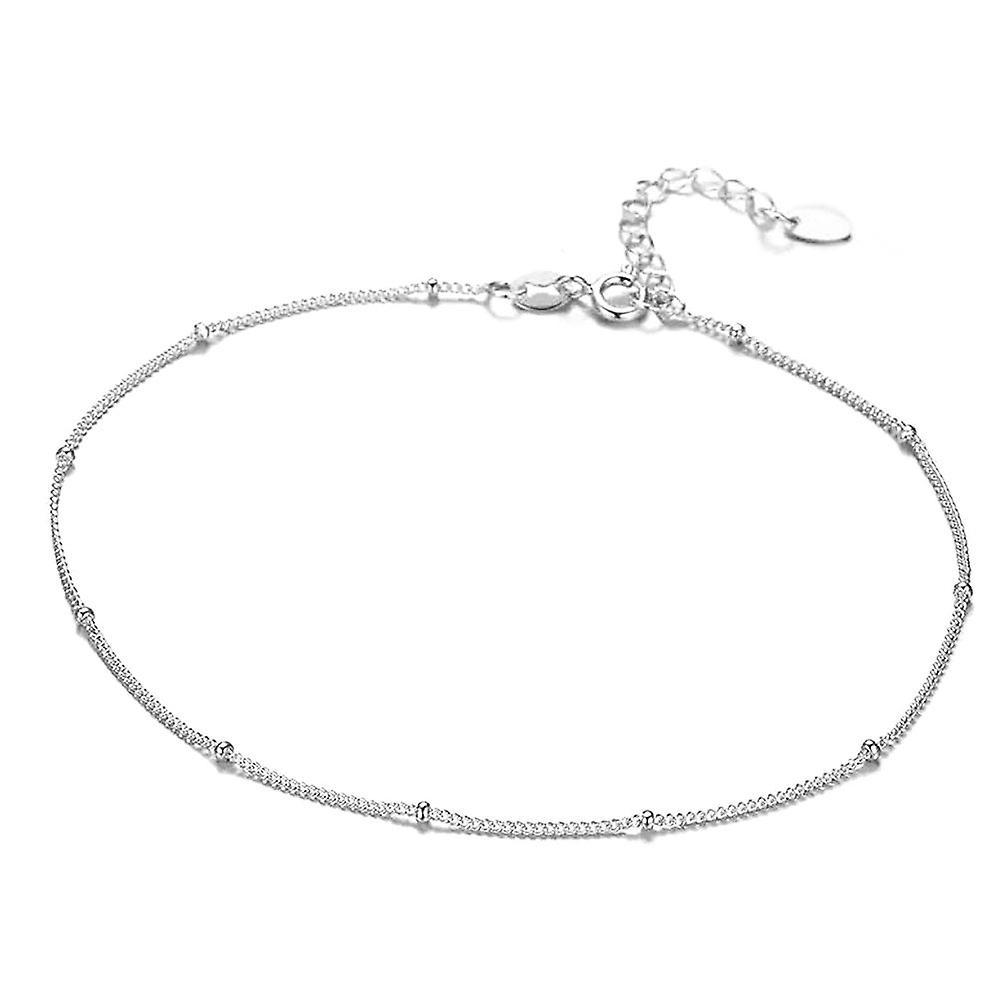 925 Silver Fancy Ball Choker Necklace