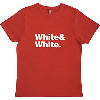 The White Stripes Line-Up Red 100% Recycled T-Shirt