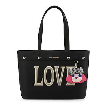 Amore moschino donne's borsa a tracolla, nero - dfr