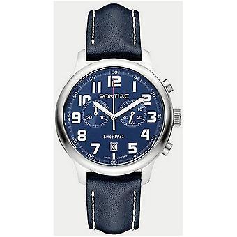 Pontiac - ranne katsella - miehet - P40013BL - LIVERPOOL - chronograph