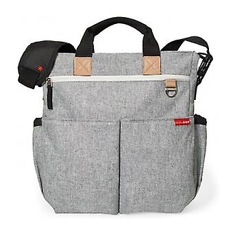 Skip Hop Diaper Bag Duo Firma Grey Melange