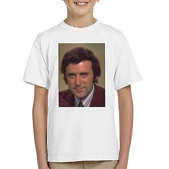 TV-Zeiten Presenter Terry Wogan 1972 Kinder T-Shirt