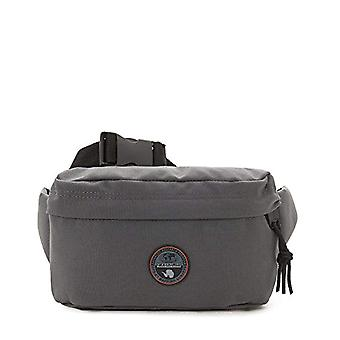 Napapijri HOYAL BUM BAG Borsa Messenger 32 cm Grigio (Dark Grey Solid)