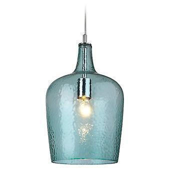 Firstlight Destiny Modern Chrome Glass Ceiling Kitchen Bell Shade Pendant