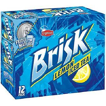 Brisk Lemon Iced Tea-( 355 Ml X 12 Bottles )