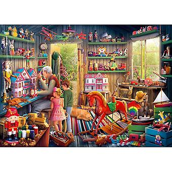 Gibsons 1000 Piece Toymakers Workshop Jigsaw Puzzle